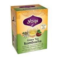 Yogi Kombucha Green Tea, 16 Tea Bags,1.12oz (Pack of 6) Thank you for using our service by GIP Super Market [並行輸入品]
