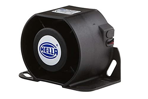HELLA 3SL 996 139-001 Rückfahrwarner - 87dB(A) - Frequenzbereich: 1200Hz - geschraubt - Kabel: 159mm - Stecker: offene Kabelenden - Menge: 1