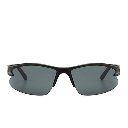 Gafas de sol de lectura envolventesGafas de sol de lectura rondacompleta cobertura ultrafina marco flexibleprevienen la radiación Solar/fotocromáticasGafas para Hombres y Mujeres (negro)