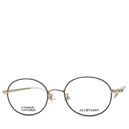 ジルスチュアート(JILL STUART) ライトゴールド×ピンクベージュ メガネフレーム 眼鏡 JS-05-0226-01
