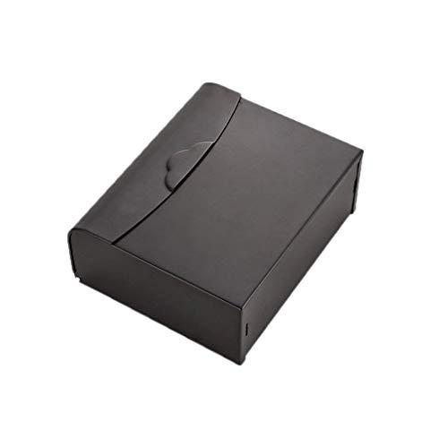 PLKZ Protectora Tipo Materiales Cobre Negro Pared del baño Puerta del Aseo Papel de la Vendimia Sanitaria Caja de Papel de los Agentes externos dispensador de Toallas de Papel Resistente al AG