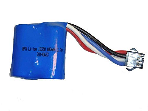 GzxLaY Batteria Sostitutiva UDI RC di riserva ad Alte Prestazioni per UDI R / C UDI001 UDI008 Speed Boat 3,7 V 600 mAh Li-Ion