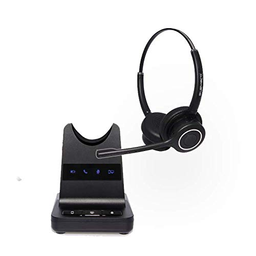 Element Binaural Wireless Headset for PC | Desk Phone | Mobile | Compatible With Acer Nitro