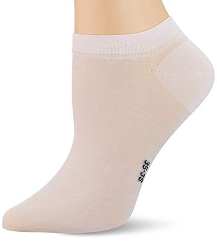 FALKE Damen Fine Softness W SN Socken, Rosa (Light Pink 8458), 35-38 (UK 2.5-5 Ι US 5-7.5)