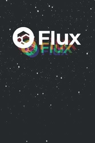 FLUX (rgb blur) 114 Pages 6''x9'' in College Ruled Notebook