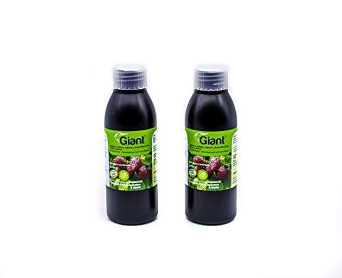 KELPMAX 2 Giant®; Multinutrientes/Algas/Aminoácidos/Péptidos; Fertilizante Especial Bio-Estimulante-Engorde&Calidad Frutos, Frutales y Plantas. Ecológico Jardín-huerto (800 m2);