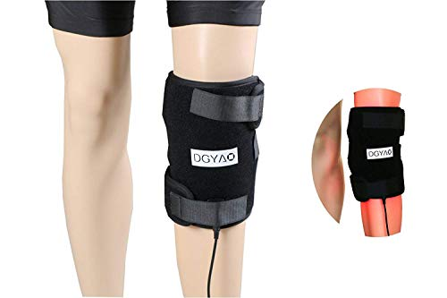 DGXINJUN Infrared & Red Light Therapy for Arthritis Joint Pain Relief Device Led 880nm Wearable Knee Elbow Pads Home Use Wrap Healing