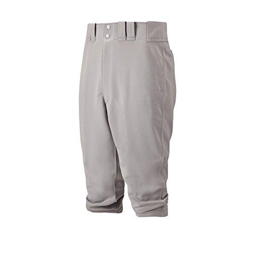 Mizuno Adult Premier Short Baseball Pant, Grey