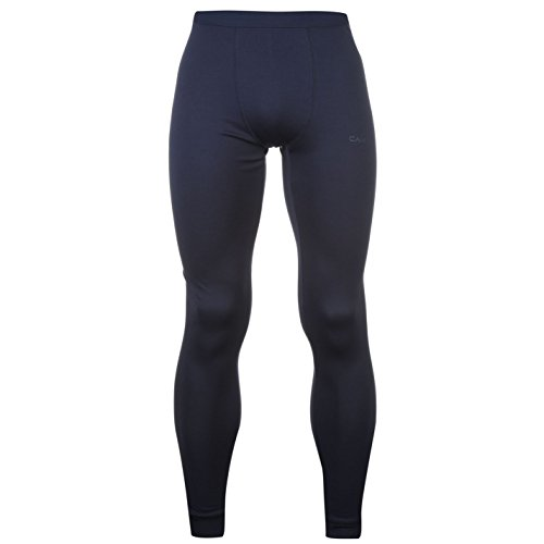 Campri Herren Thermo Leggins Stretch Warm Leggins Ski Baselayer Marineblau M