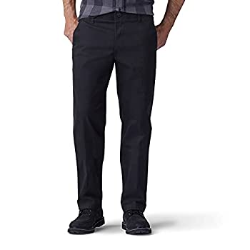 Lee Men s Performance Series Extreme Comfort Straight Fit Pant Black 36W x 30L