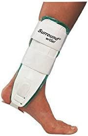 DJO Surround with Gel Ankle Support Large Hook and Loop Closure Left or Right Foot Qty 1 product image