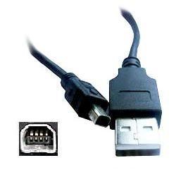 Olympus Cable USB CB-USB1cbusb1para Camedia 2112-dp, C-1, C-1ZOOM, C-2ZOOM, C-200, C-211Zoom, C-700Ultrazoom, C-2040Zoom, C-2100Ultrazoom, C-3000Zoom, C-3020Zoom, C-3030ZOOM, C-3040Zoom, C-4000, C-4040Zoom, D-100, D-150, D-230, D-270, D-370, D-510Zoom, E-10, E-20, E-20N, E-20P, E-100RS, Brio D-100, Brio D-150Zoom, D-230Brio–, D-270, D-370, D-510Zoom, DS-2000, DS-300por Dragon Trading®