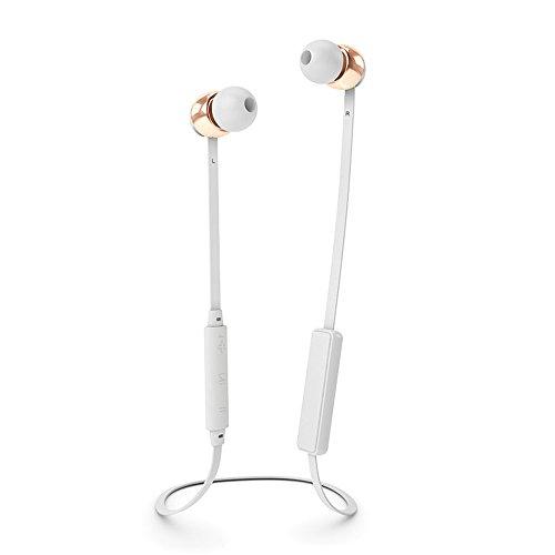 Sudio 8051 VASA BLA kabelloser In-Ear Ohrhörer mit Ladegerät weiß/rotgold Metal