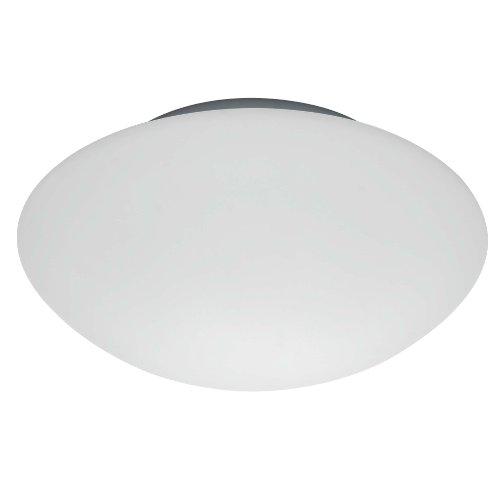 Brilliant 90100/05Wandleuchte/Deckenleuchte Metall/Glas weiß 18,5x 18,5x 7cm
