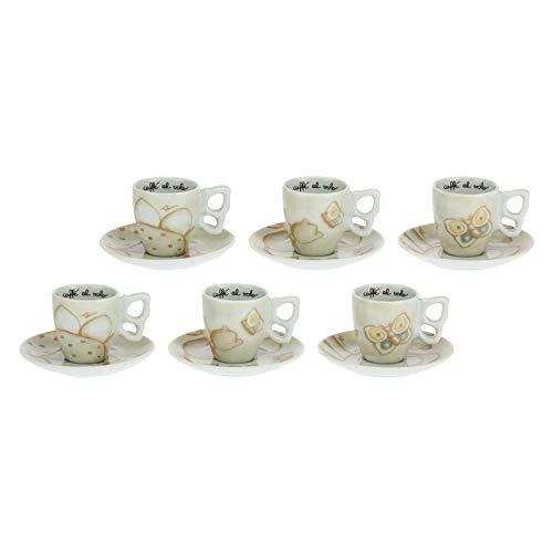 THUN -Set 6 tazzine caffè Elegance