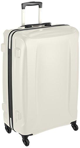 [レジェンドウォーカー] スーツケース ジッパー ハードスーツケース 軽量 双輪 5201-68 保証付 83L 75 cm 4.1kg アイボリー