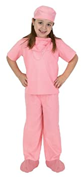 Aeromax Jr Doctor Scrubs available in Blue or Pink