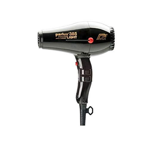 Parlux Hair Dryer 385 Powerlight Ionic Ceramic Black