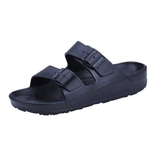 Huaya Herren Mode Tragen Eben Hausschuhe Strand Schuhe Ultra Licht Sandalen