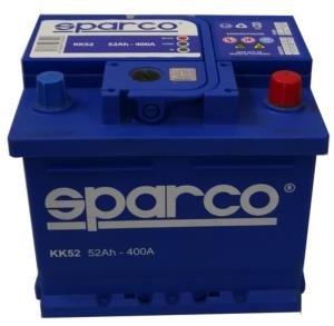 SPARCO KK52 - Batería para coche, 52 Ah