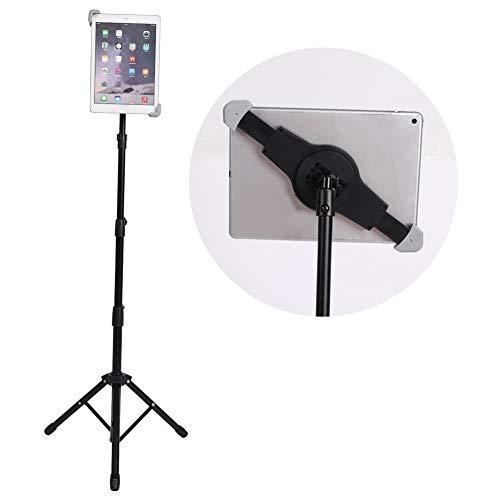 Statief voor iPad, live statief metalen statief voor pad/tablet-computer selfie live-uitzending video's kit standhouder beugel