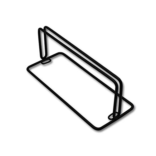 AHMI Eisen Schreibtischteiler Schellen Sichtschutzhalterung Halter Dest Partition Stützgläser Bildschirmclips Schwarz