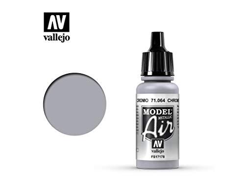 Farbe Vallejo Model Air 71064 Chrome (17ml)