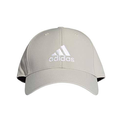 adidas BBALLCAP LT EMB Chapeau Mixte Adulte, Metal Grey/Metal Grey/White, FR : L (Taille Fabricant : OSFY)