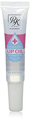 Ruby Kisses Hydrating Lip Oil Treatment Gloss, 0.34 Ounce (RLO01 Clear)