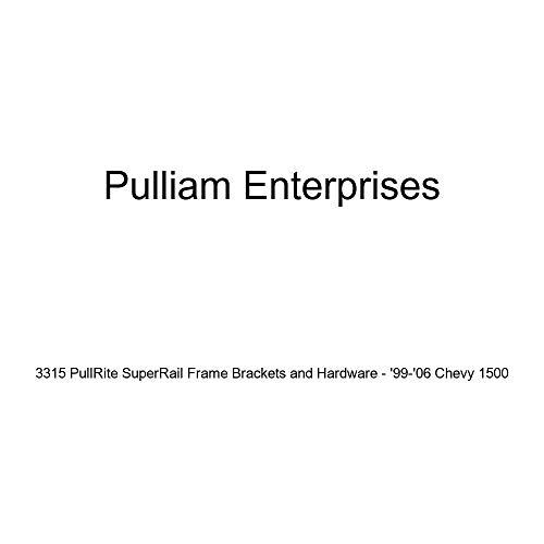 Fantastic Prices! Pulliam Enterprises 3315 PullRite SuperRail Frame Brackets and Hardware - '99-'06 ...