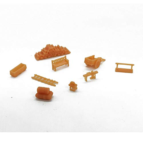 Outland Models Railroad Scenery Country Farm Tool Accessory Set Gauge N 1:160