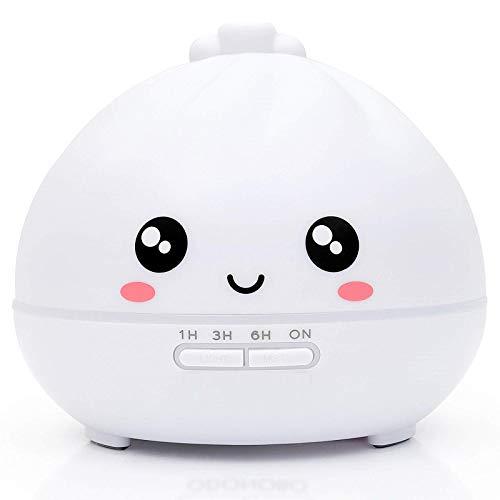 ZPL Mini Humidificador Aroma Difusor Mudo Multicolor Noche Ligero Aire Humidificación 300 Ml Alto Capacidad Portátil Yoga Recuperación