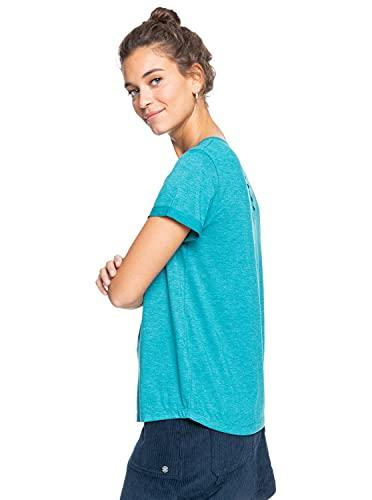 Roxy Call It Dreaming T-shirt Femme -Bleu (Deep Lake) - M