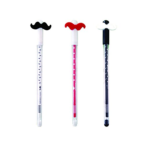 Fablcrew 3pcs bolígrafos tinta gel Kawaii forma
