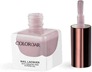 Colorbar Nail Lacquer with Keratin and Almond Oil, 12 ml Model (number/Name) 836 Truth and Bare