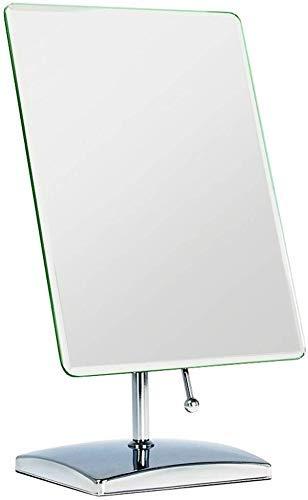 FACAIA Espejo telescópico Europeo Espejo de Maquillaje Espejo de Belleza de Cobre Negro Espejo Plegable de Doble Cara con Lupa de Pared