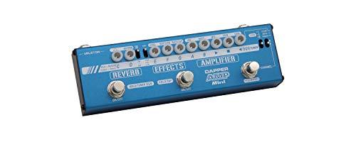 Valeton Dapper Amp Mini Digital Modelierung Vorverstärker Verstärker Modeler Gitarre Multieffet Pedal mit Chorus Delay Tremolo Reverb