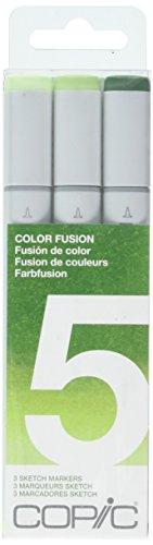 Comic Sketch Set de 3 couleurs Fusion 5