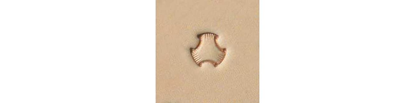 Tandy Leather X503 Craftool? Tri Weave Stamp 6503-00