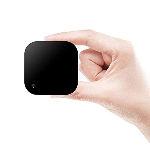 Telecomando intelligente a infrarossi, per l'automazione della casa intelligente, senza fili, WiFi, universale, compatibile con Alexa e Google Home, per smartphone Apple Android