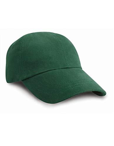 Result Headwear Low Profile Heavy Cotton Cap brossé Taille unique Capnavy