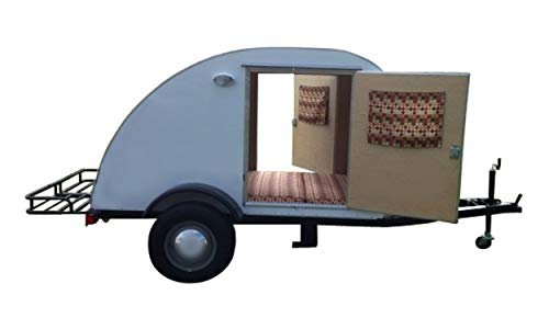 Teardrop Trailer Plans DIY Lightweight Camper For Motorcycle Small Car Build