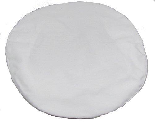 Royal Navy - Funda para gorra, algodón blanco, oficiales, RN, gorro, militar,...