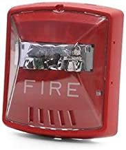 Cooper Wheelock STR Wall Mount Fire Alarm Strobe, Red