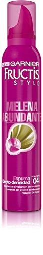 Garnier Fructis Style Espuma Melena Abundante Efecto Densidad, 200 ml