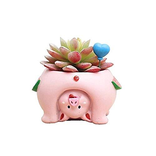 3. Upside Down Pig Planter
