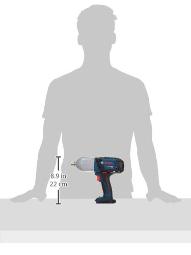 Bosch Bare-Tool HTH181B 18-Volt Lithium-Ion 1/2-Inch Square Drive Hight Torque Impact Wrench with Detent Pin