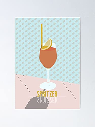 AZSTEEL Splash Cocktails Summer Drinks Happyhour Bar Poster   Best Gift for Family and Your Friends 12x17 Inch