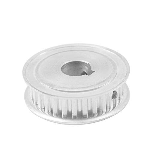 SANKUAI LT-3d, 1pc XL Keyway 40T Timing Pulley 16/17/19/20mm Bore Keyway Diameter 5/6mm 11mm Width Drive Belt Pulleys For 3D Printer (Color : Bore 19mm key 6mm, Size : 11mm)