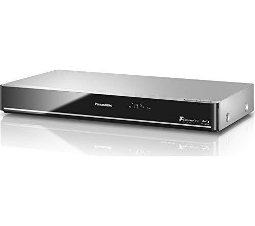 Panasonic 4K Upscale, WiFi incorporado, reproductor de Blu-ray 3D inteligente y reproductor de DVD con Freeview Play + grabadora HD - 1 TB HDD